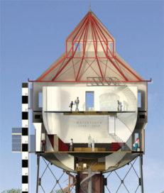 Tweede leven voor watertoren Groningen