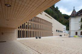 Landesforum en het Landesparlament Liechtenstein krijgt Wienerberger Brick Award