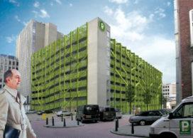 Groene long in Rotterdam