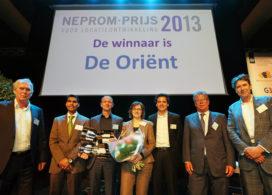 De Oriënt wint NEPROM-prijs voor locatieontwikkeling