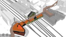 Nunc Architecten ontwerpt spooroverbouwing Zaandam