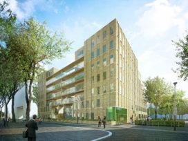 Start bouw OPZUID in Amsterdam