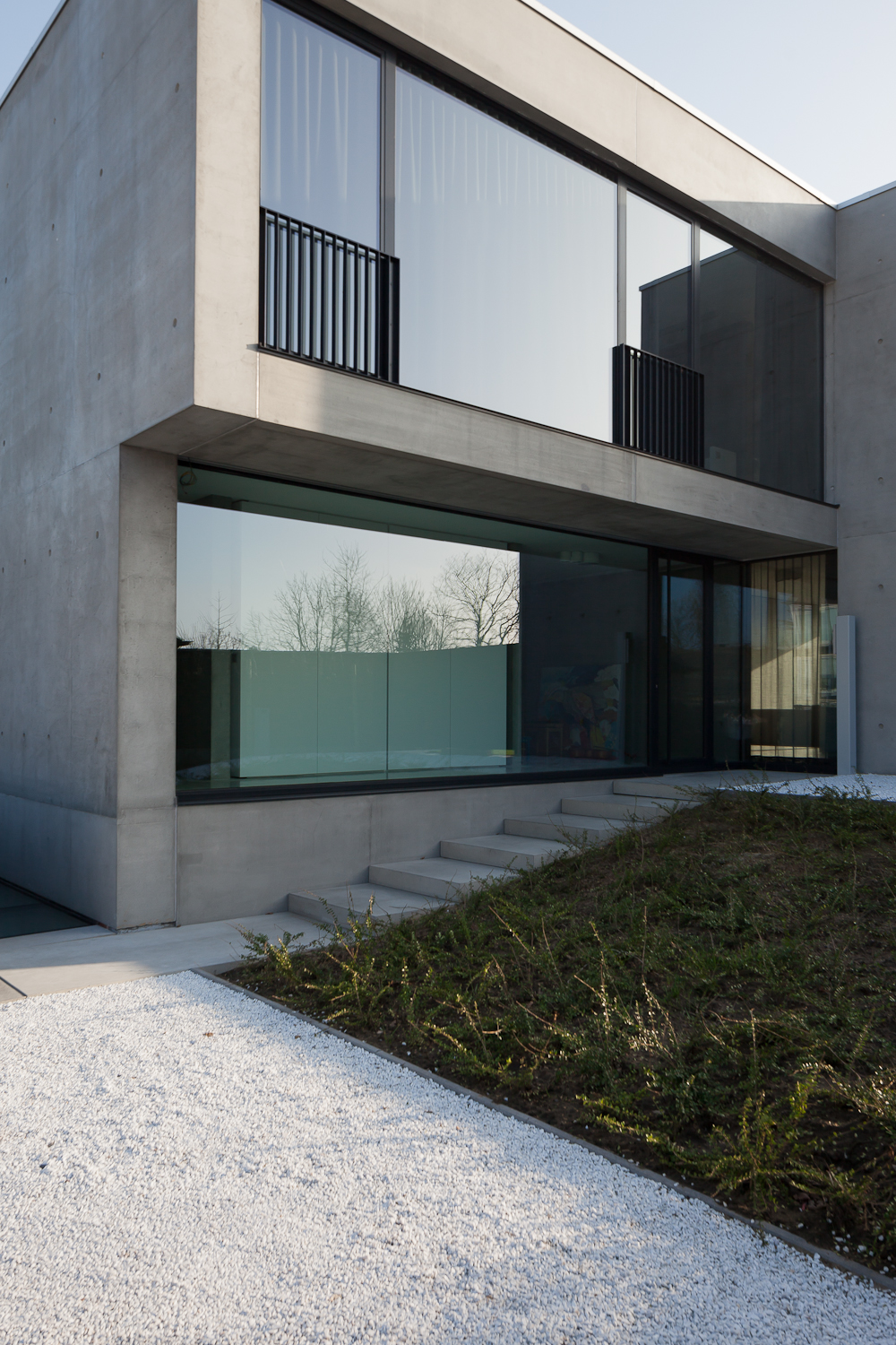 beton architectuur in waregem b de architect