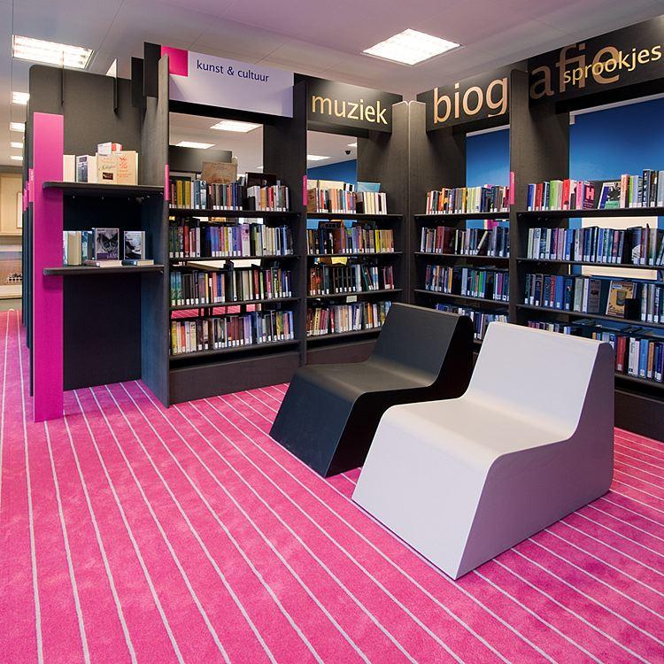 Bibliotheek Vleuterweide in Utrecht door AEQUO - De Architect