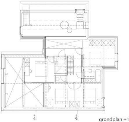 Boerderijwoning met drie zadeldaken atelier tom vanhee 20 444x420