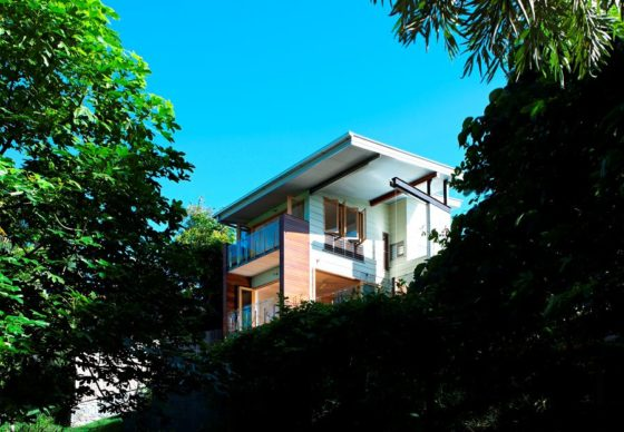 Ecohouse in brisbane au door riddel architecture 8 560x388