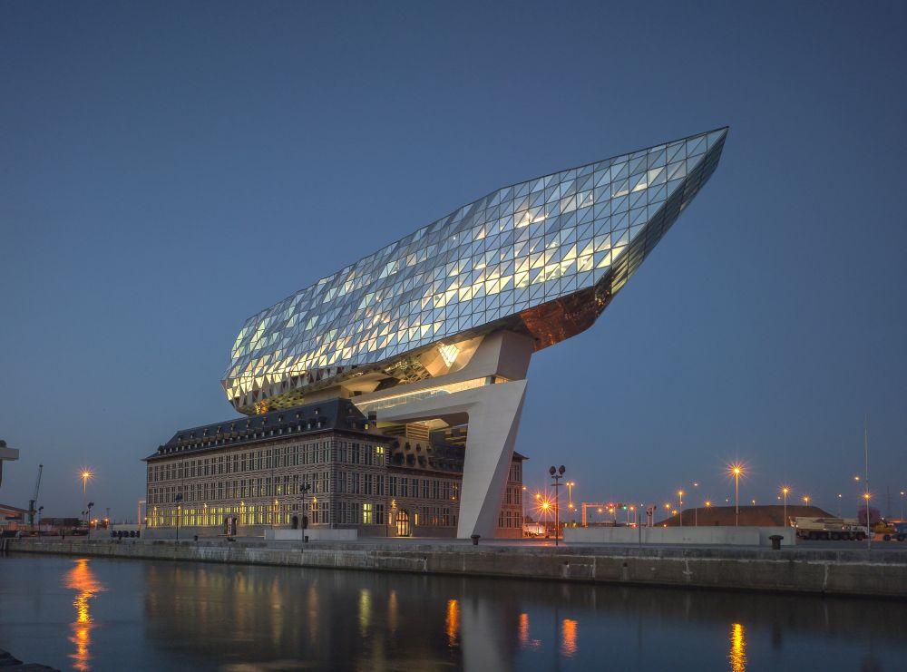havenhuis antwerpen zaha hadid architects de architect