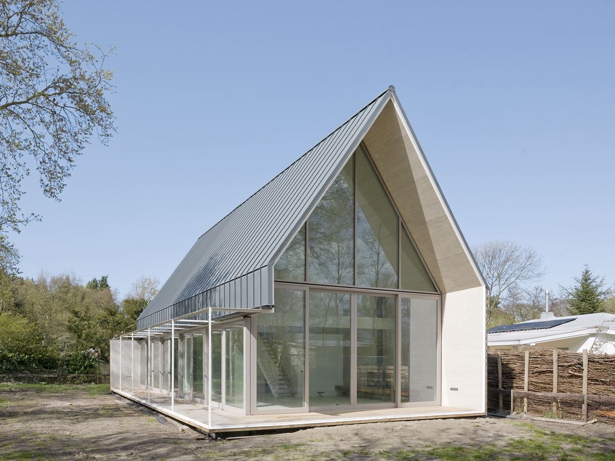 Huis js in nieuw haamstede de architect - Huis architect hout ...