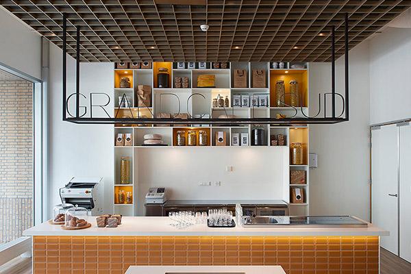 Interieur culinaire vakschool amsterdam door zenber de for Interieur architect amsterdam