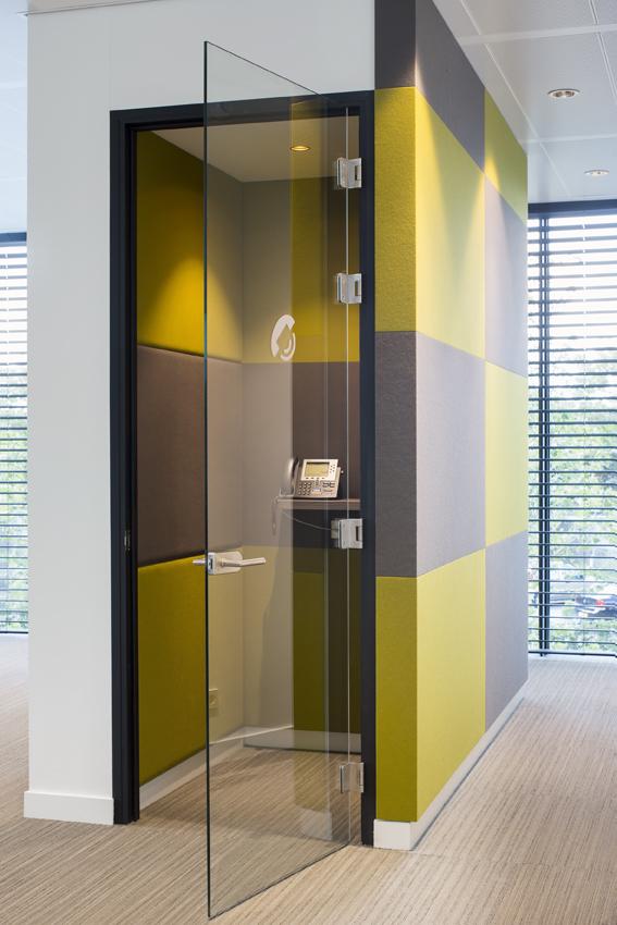 Interieur rabobank dommelstreek door berix interieur de for Interieur architect vacature