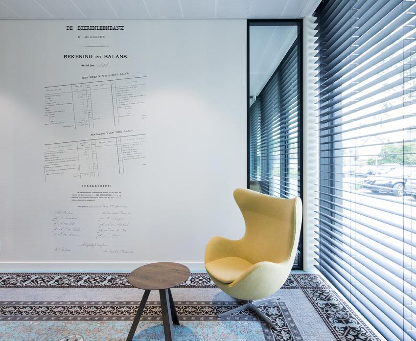 Interieur rabobank dommelstreek door berix interieur de for Interieur ontwerp programma