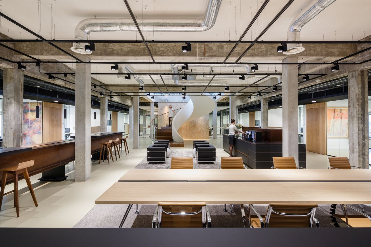 Kantoor oc c in rotterdam door fokkema partners for Kantoor architect