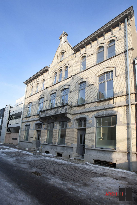Kantoren de goedkope woning in kortrijk b de architect for Goedkope woning bouwen