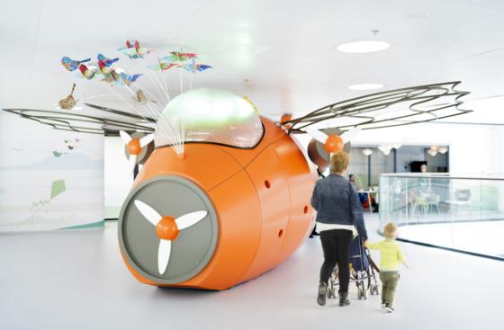 Kinderziekenhuis komt tot leven dankzij tinker imagineers 0 560x367
