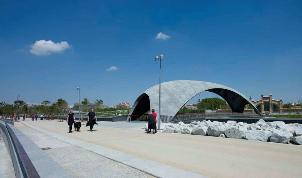 Madrid Rio door WEST 8 genomineerd voor European Architecture Award