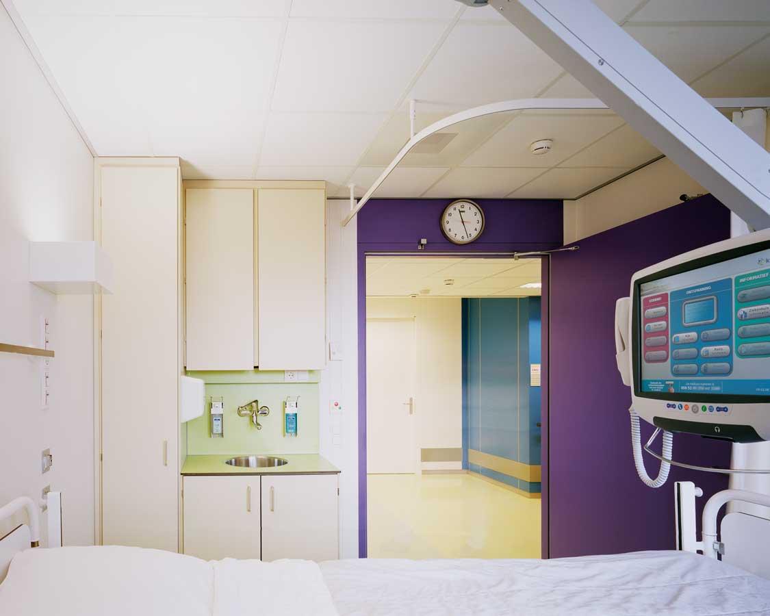Martini ziekenhuis in groningen door burger grunstra for Interieur architect vacature