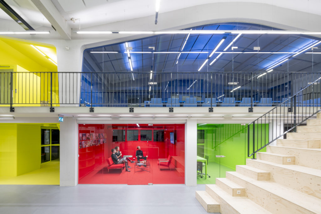 MVRDV House in Maaskants Industriegebouw
