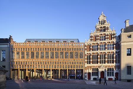 Nominatie arc16 architectuur award stadhuiskwartier deventer neutelings riedijk architecten 0