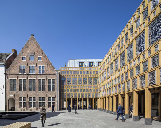 Nominatie arc16 architectuur award stadhuiskwartier deventer neutelings riedijk architecten 2 525x420