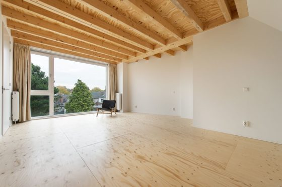 Renovatie rijtjeshuis in wassenaar door global architects 8 560x373