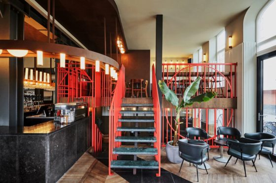 Restaurantbar holy smoke in rotterdam door studio modijefsky 3 560x373