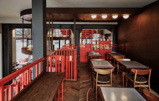 Restaurantbar holy smoke in rotterdam door studio modijefsky 6 560x357