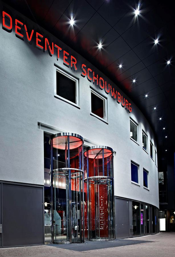 Schouwburg in deventer door m r interieurarchitecten for Interieurarchitecten nederland