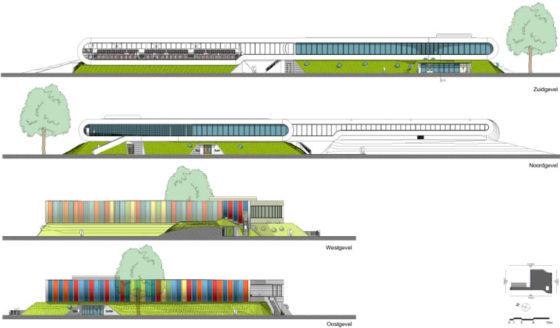 Sportcomplex Strijp in Eindhoven - De Architect