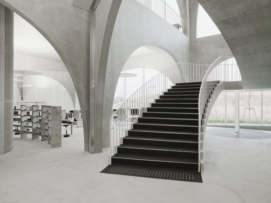Tama art university library op de hachioji campus hachioji city tokyo door toyo ito 3