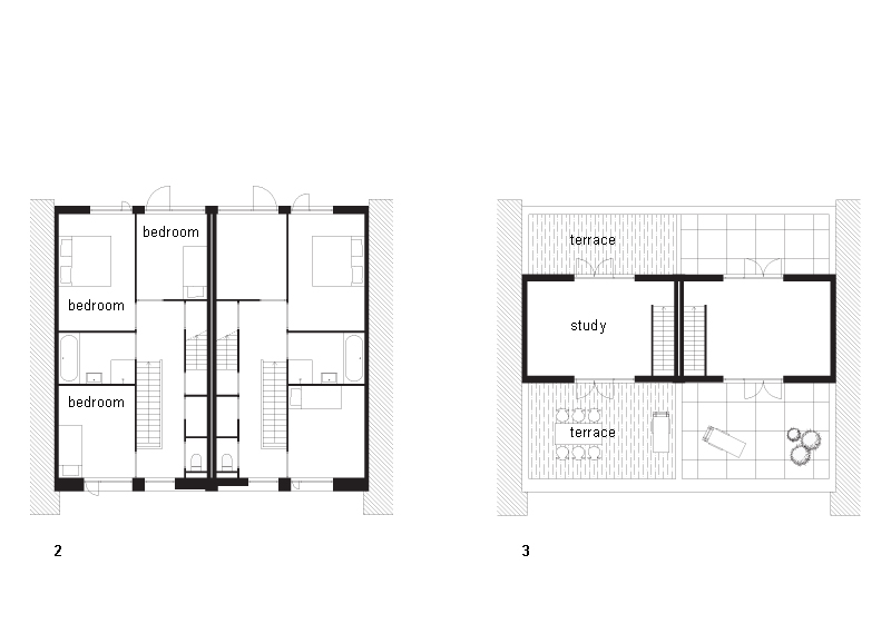 Twee-in-Eu00e9n Huis in Nieuw Leyden - De Architect