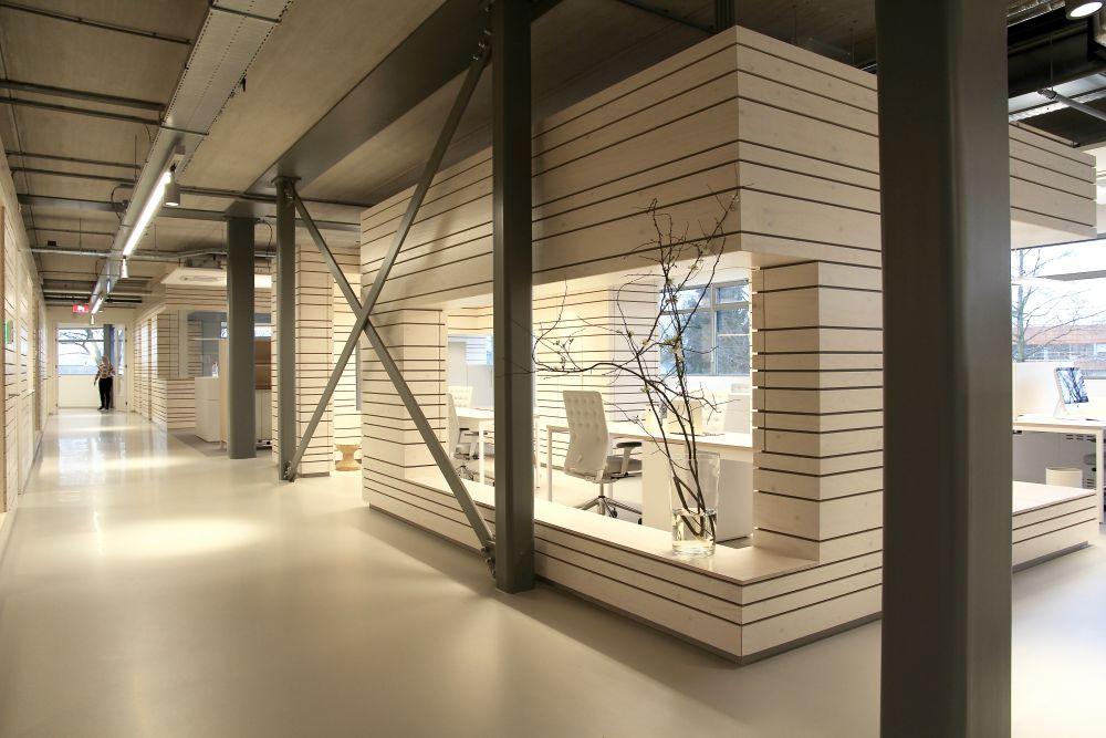 Uitbreiding kantoor en fabriek quooker 3d0d de architect - Uitbreiding hal ...