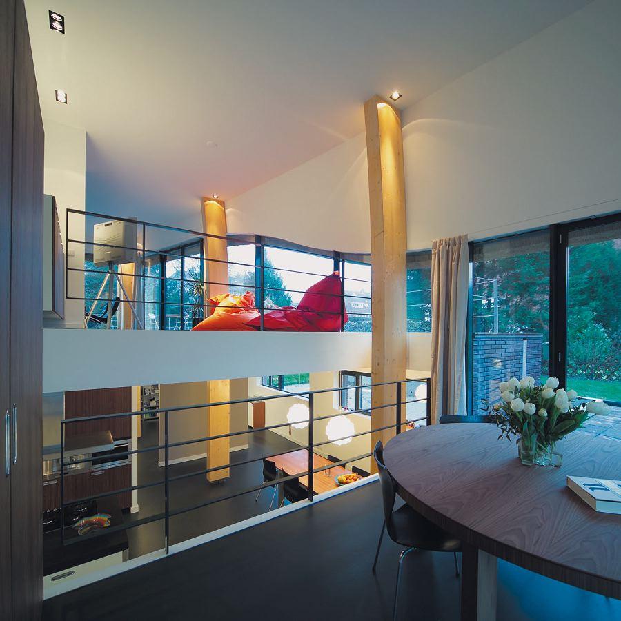 Villa in aerdenhout door joustra reid architecten de architect - Kubieke villa ...