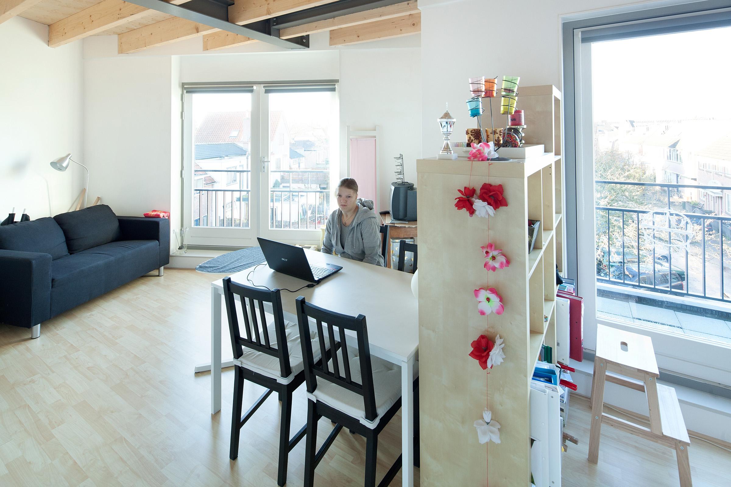 Villa met vijf studio s in hilversum de architect - Kleine studio ontwikkeling ...