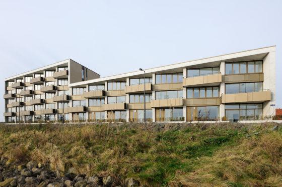 Woonblok op ijburg amsterdam 5 560x373