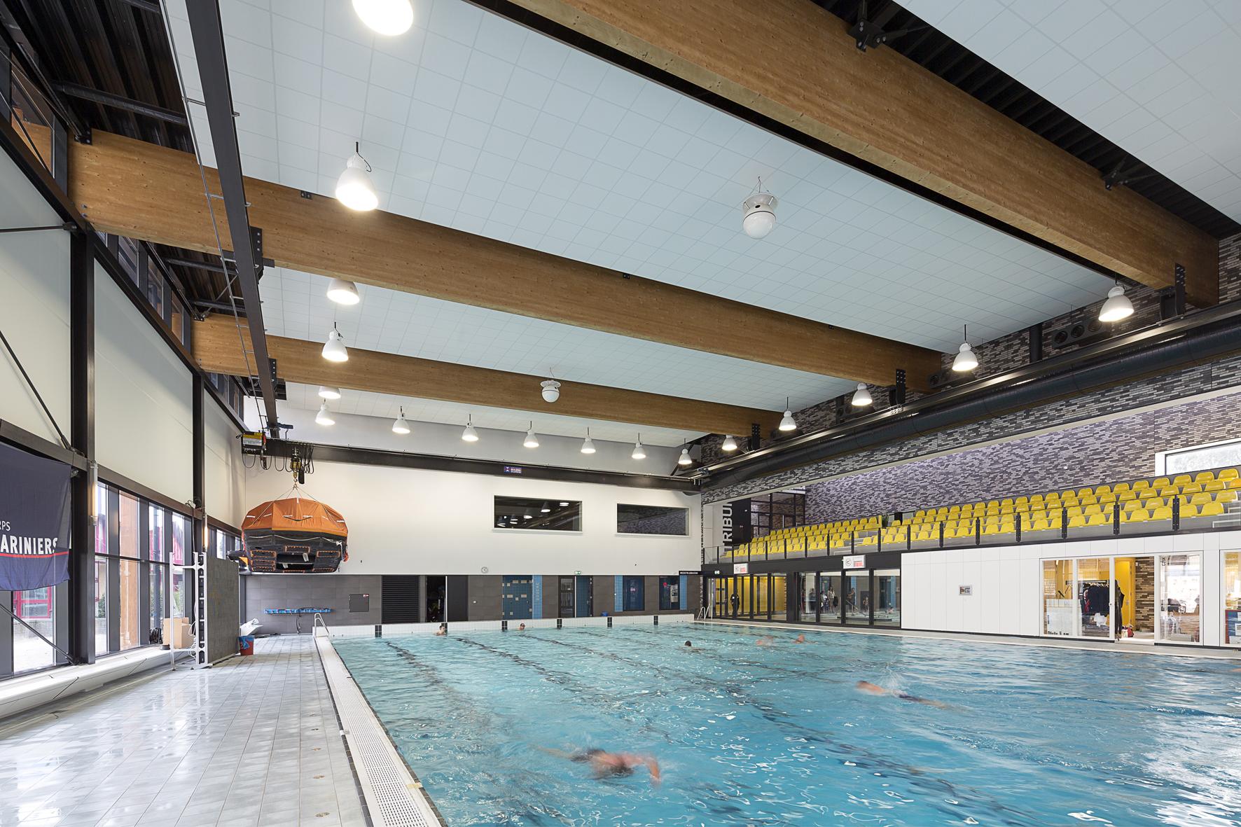 zwembad het heersdiep in den helder de architect