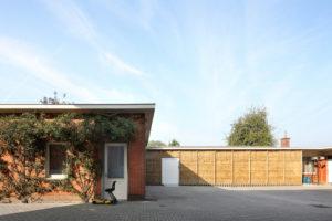 Demontabel huis van stro