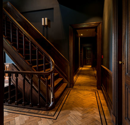 Br parcbroekhuizen monumentale trappenhuis en nieuwe gangenstructuur ve... 436x420