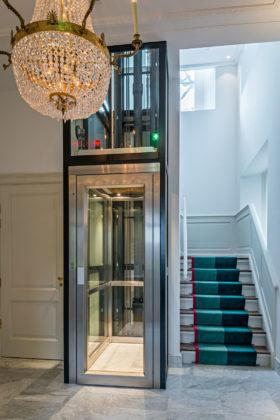 Br parcbroekhuizen liftschacht in bestaande schalmgat 280x420