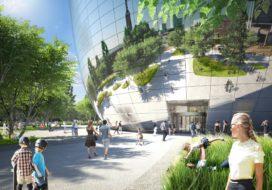 Glazen gevels collectiegebouw Rotterdam afkomstig van Sorba