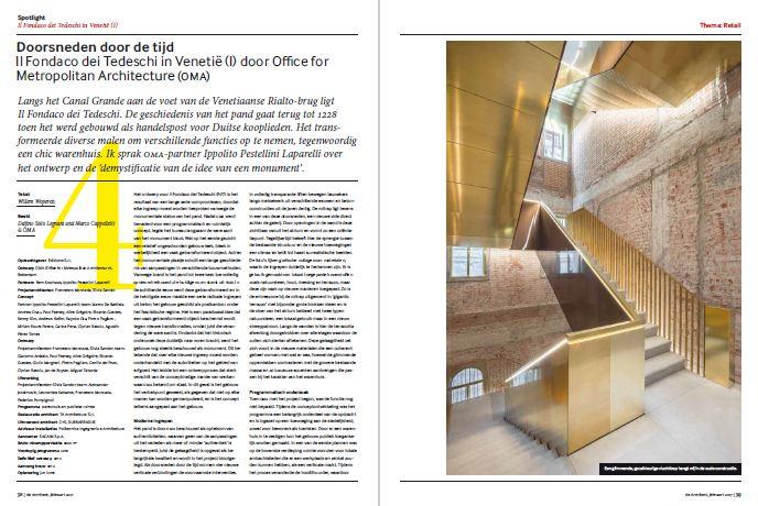 Oma en dam partners in retail nummer de architect - Spotlight ontwerp ...