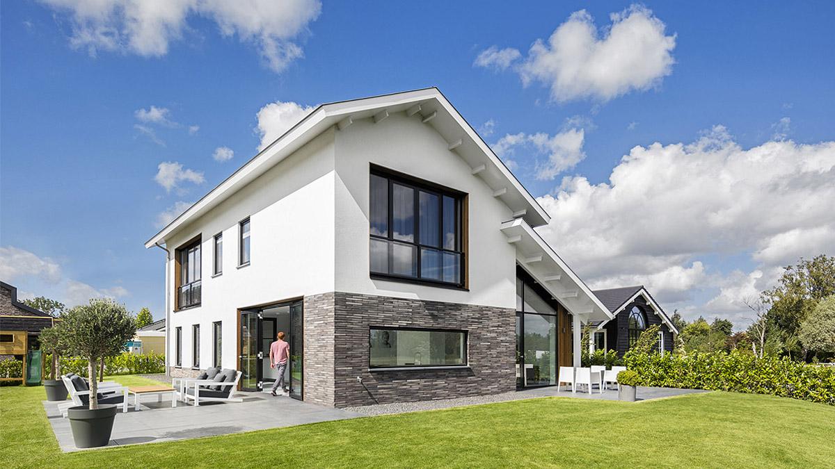 Modern woonhuis nieuwkoop bnla architecten de architect - Zie in het moderne huis ...