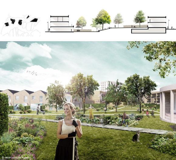 Delva Landscape Architects ION Suikerpark Veurne