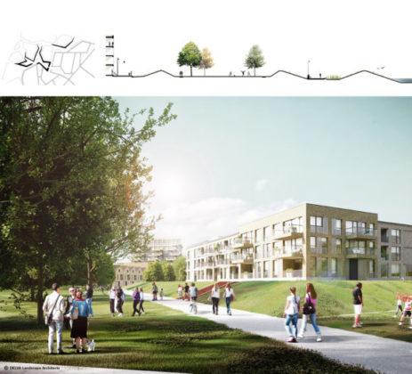 Delva landscape architects amsterdam steven delva ion veurne suikerpark montage dijken 580x526 463x420