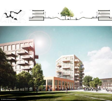 Delva landscape architects amsterdam steven delva ion veurne suikerpark montage suikerpark 580x526 463x420