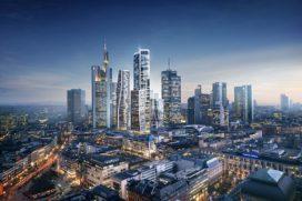 UNStudio bepaalt nieuwe skyline Frankfurt