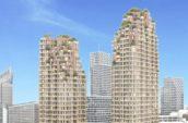 MVRDV ontwerpt woontorens Grotiusplaats Den Haag