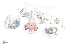 D/DOCK lanceert expositie Healing Hub tijdens Salone del Mobile in Milaan