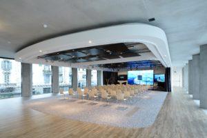 Interieur Microsoft House Milaan – DEGW