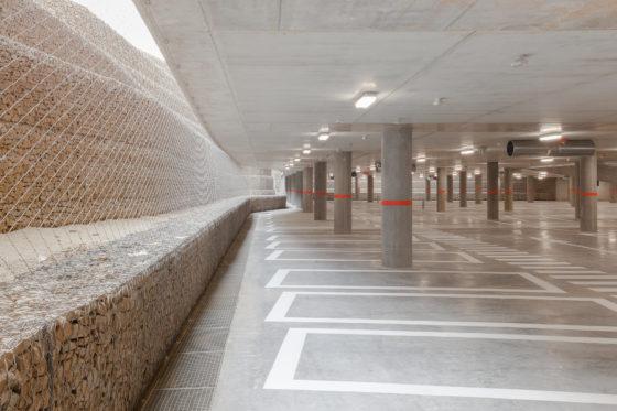 Parkeergarage cliniques universitaires djga modulo 10 560x373