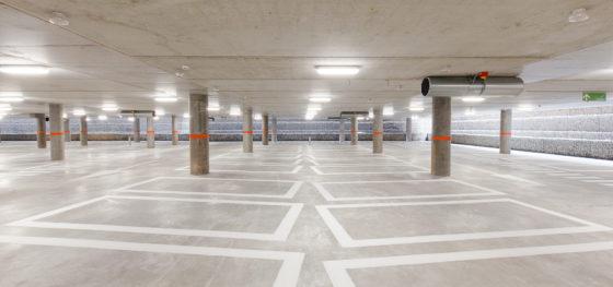Parkeergarage cliniques universitaires djga modulo 11 560x263